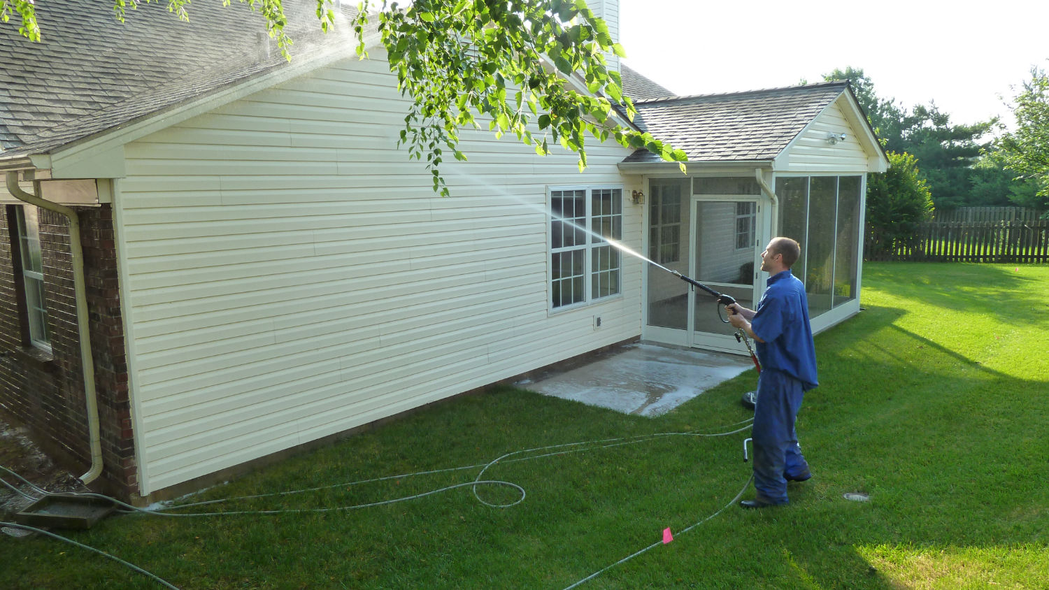 minneapolis house power washing