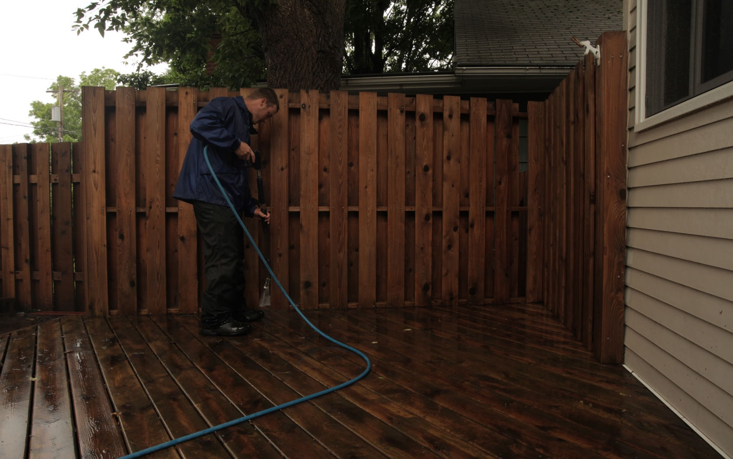 fence cleaning and restoration in st paul