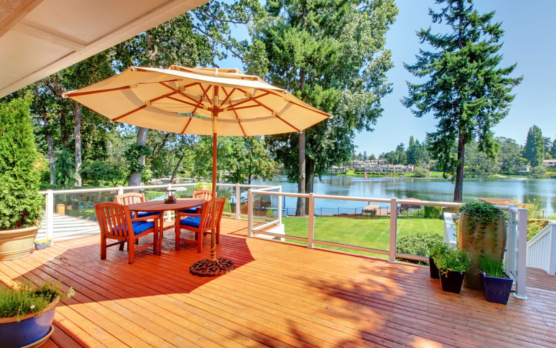 cabin deck restoration in minnesota