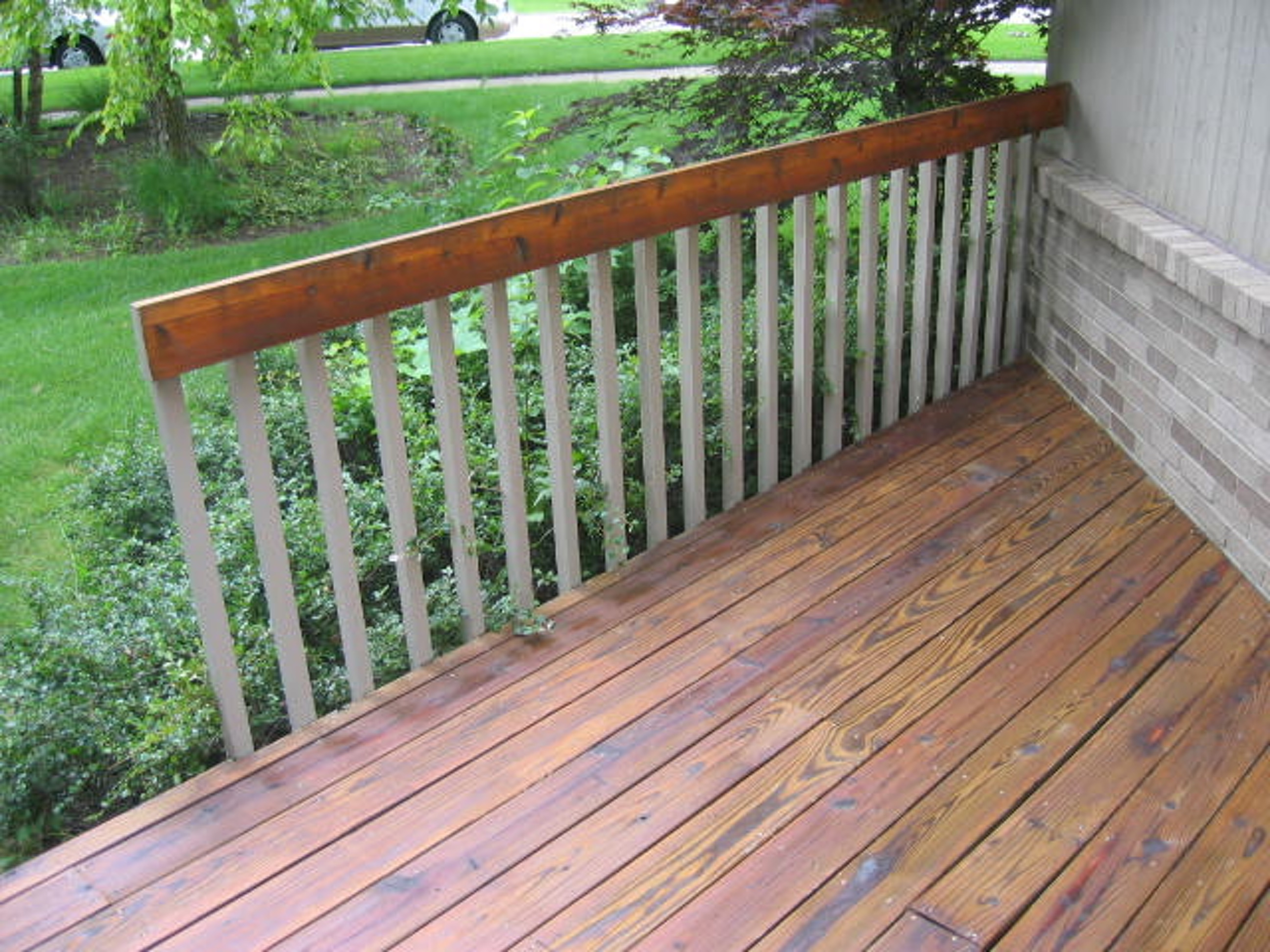 Sanding Or Hydrowashing Of Painted Decks Roof To Deck