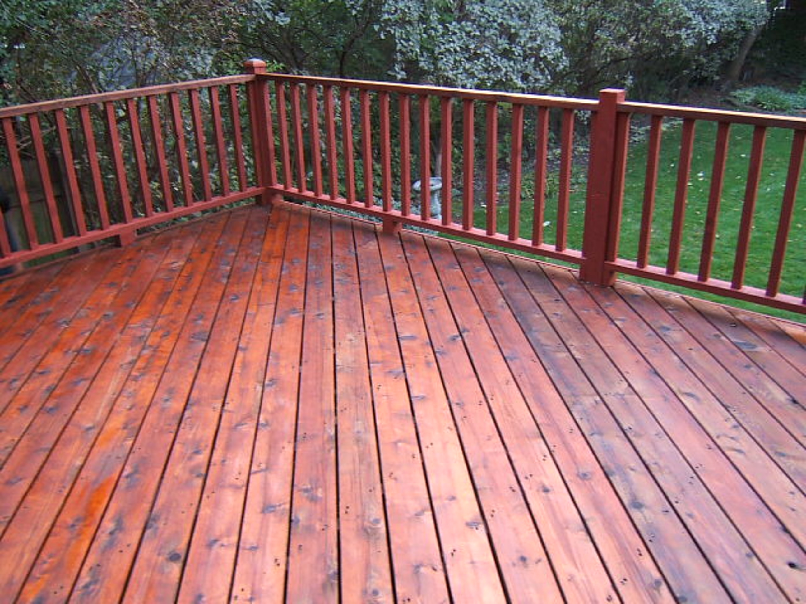 Sanding Or Hydrowashing Of Painted Decks Roof To Deck Restoration